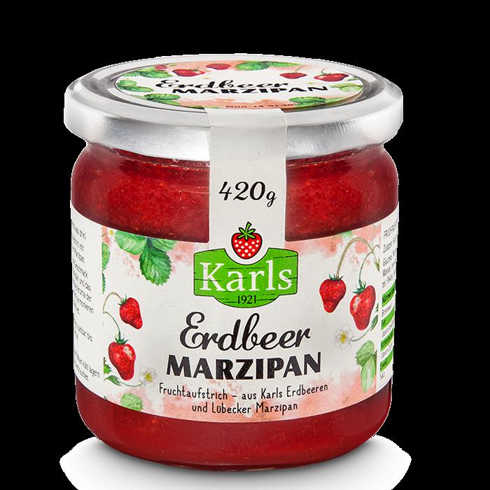 Erdbeer-Marzipan Fruchtaufstrich 420g
