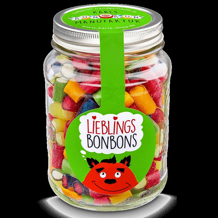 Fruchtmix-Bonbons Vorratsglas 700g