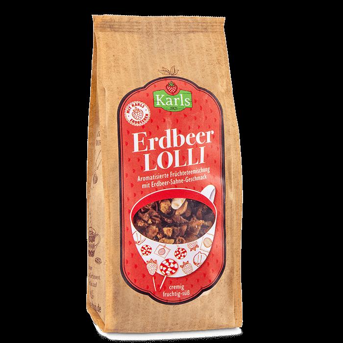 """Früchtetee """"Erdbeer-Lolli"""""""