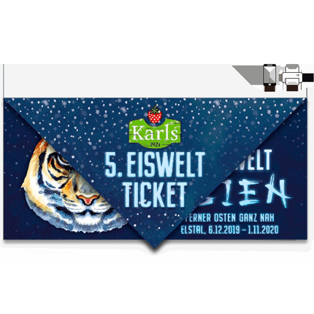 Eiswelt-Ticket Erwachsener ELSTAL- ruckzuck per Mail