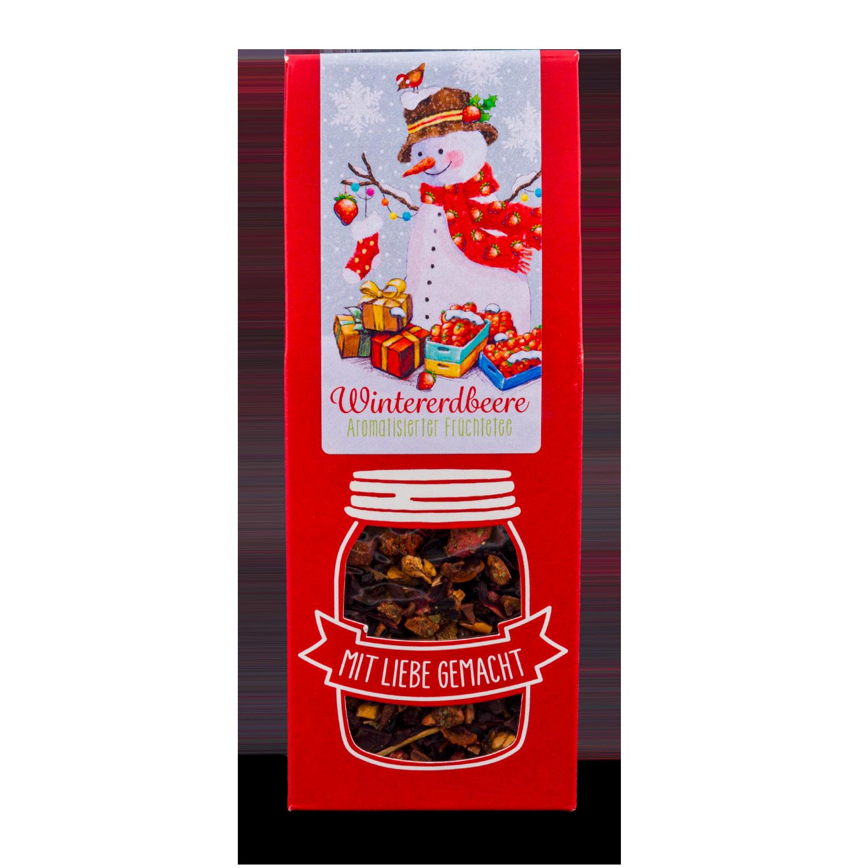 "Früchte-Tee ""Wintererdbeere"""