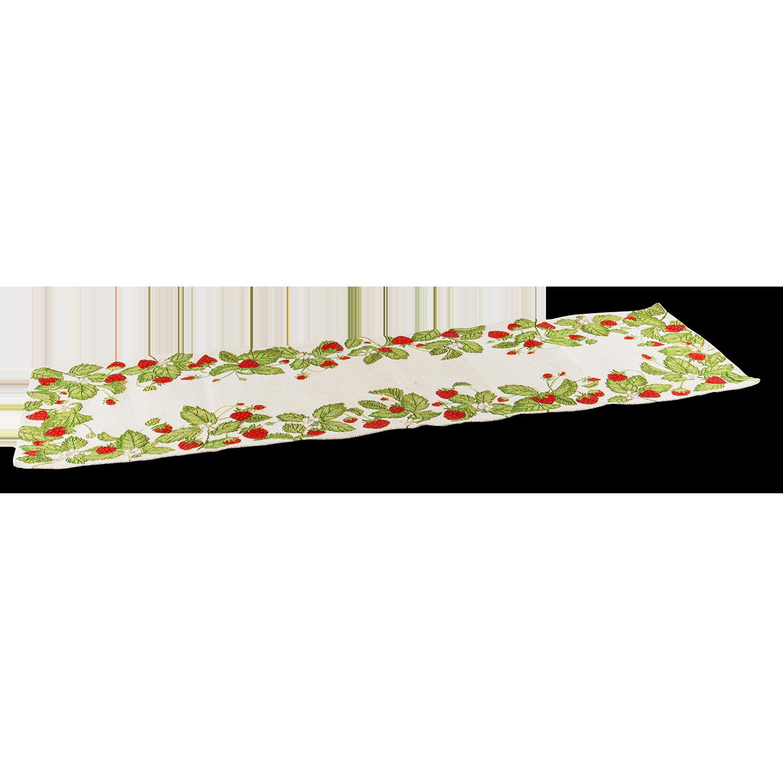 """Tischläufer """"Strawberries"""" 96 x 20cm"""