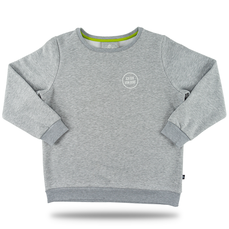 "Damen-Sweatshirt ""Vom Dorf"" grau GR. XXL"