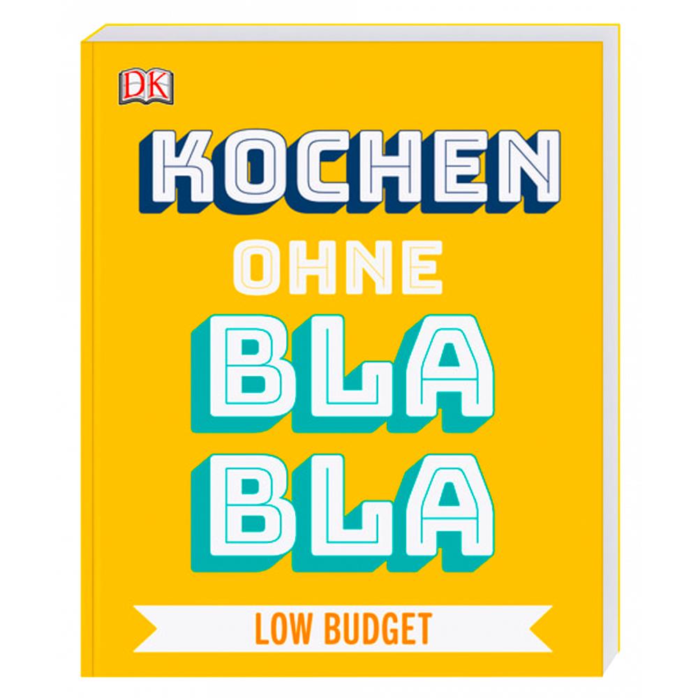 """""""Kochen ohne Blabla Low Budget"""" Buch"""