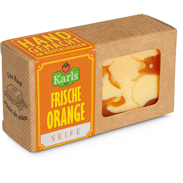 "Seife ""Frische Orange"""