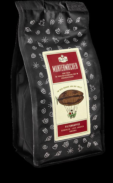 Kaffee Muntermacher -Filterkaffee