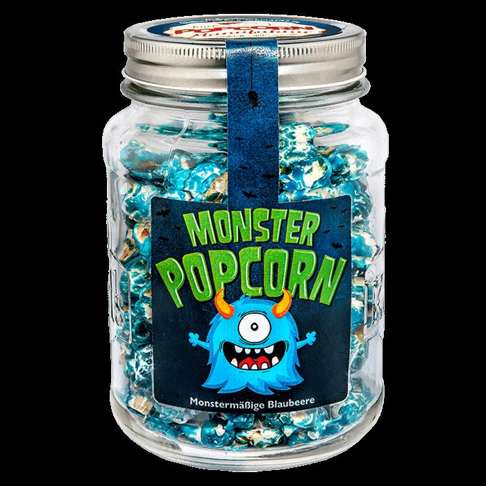 "Popcorn-""Monster"" im Glas"
