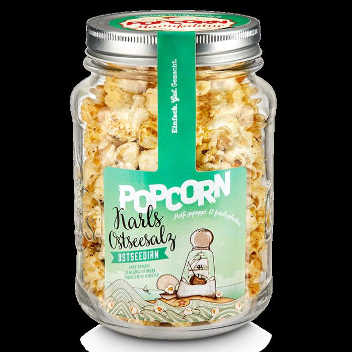 """Popcorn-""""Ostseedirn"""" im Glas"""