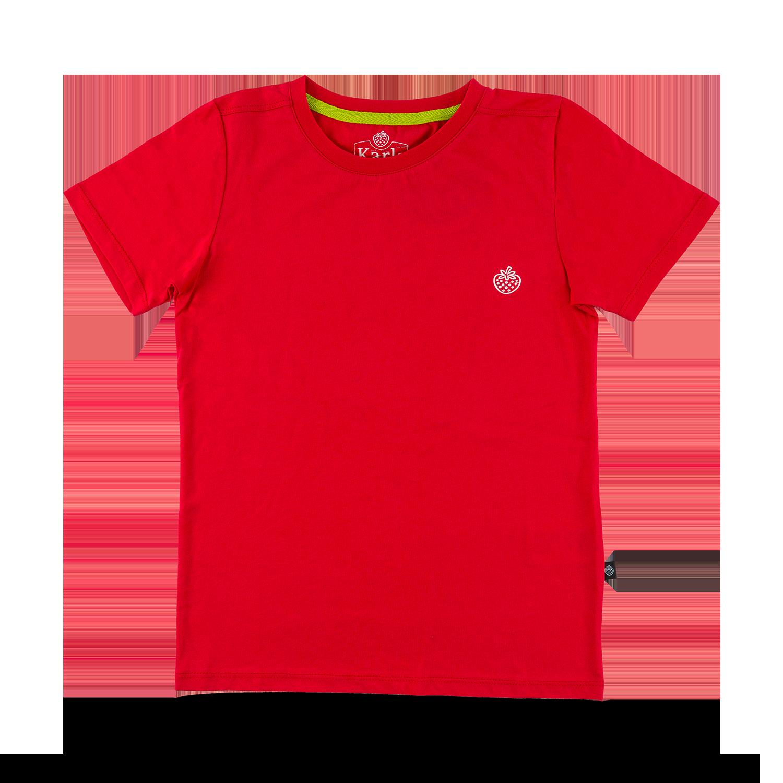 "Kids T-Shirt ""Karls"" red Gr. 92/98"