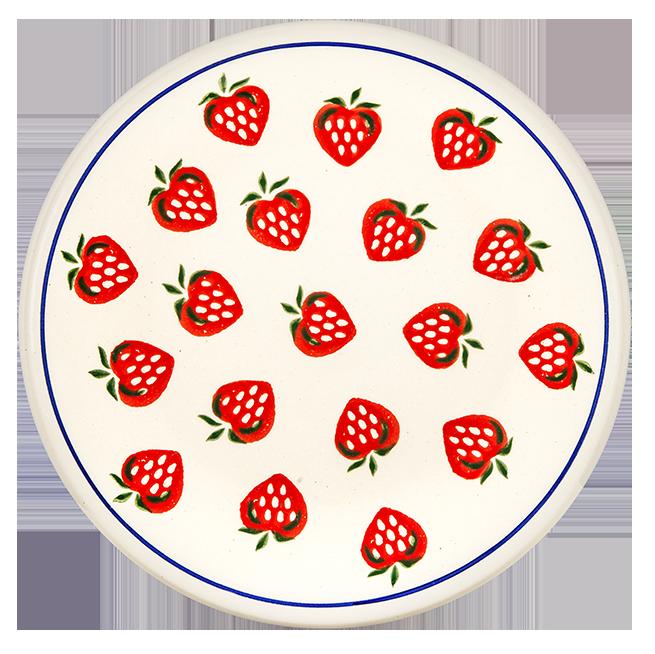 """Frühstücksteller """"Erdbeere"""""""