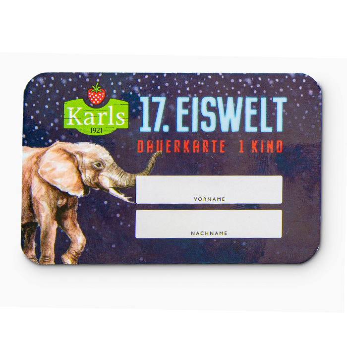Eiswelt-Ticket RÖVERSHAGEN Kind - ruckzuck per Mail