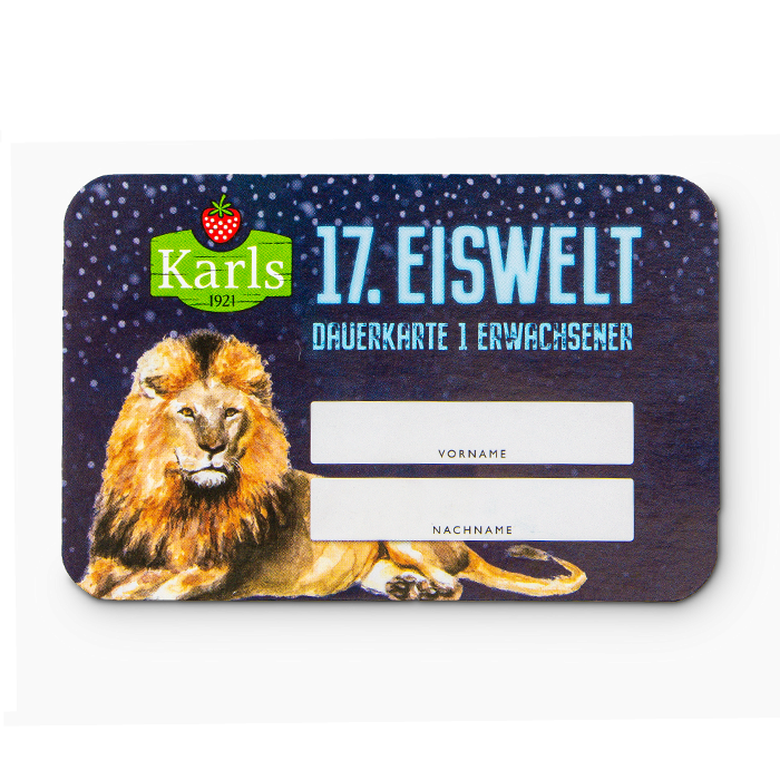 Eiswelt-Ticket RÖVERSHAGEN Erwachsener - ruckzuck per Mail