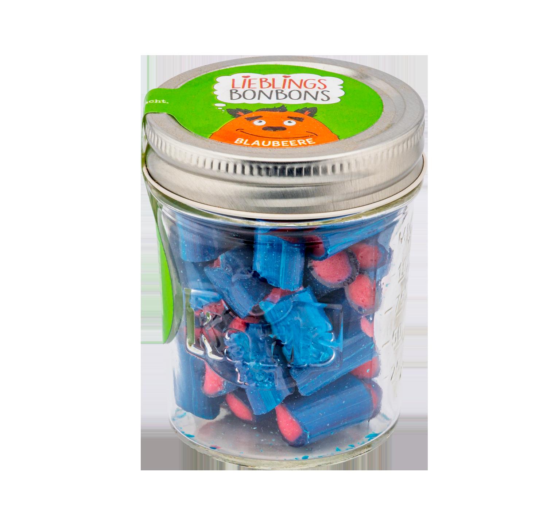 Blaubeer-Bonbons