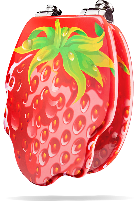 """WC-Sitz """"Erdbeere"""""""