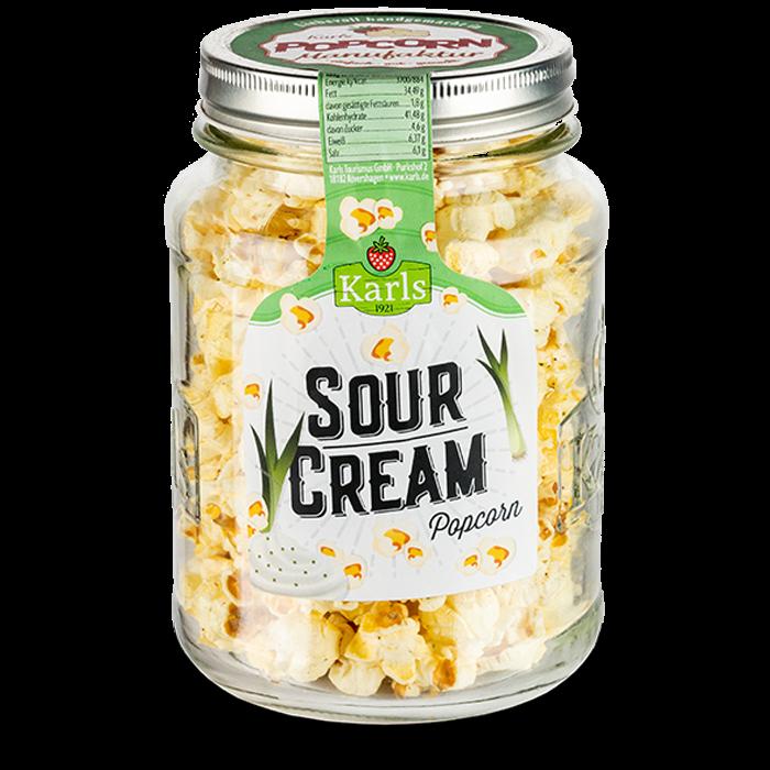 """Popcorn-""""Sour Cream"""" im Glas"""