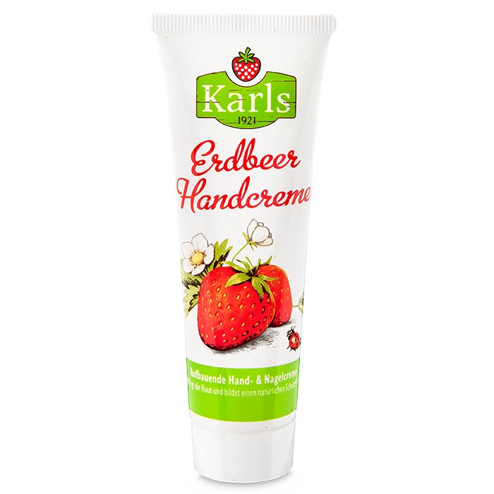 Erdbeer-Handcreme