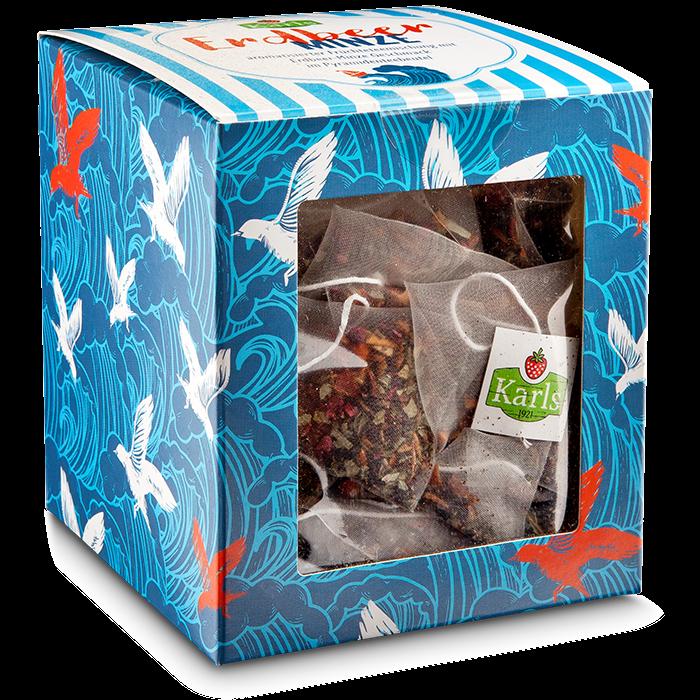 Erdbeer-Minze-Teebox