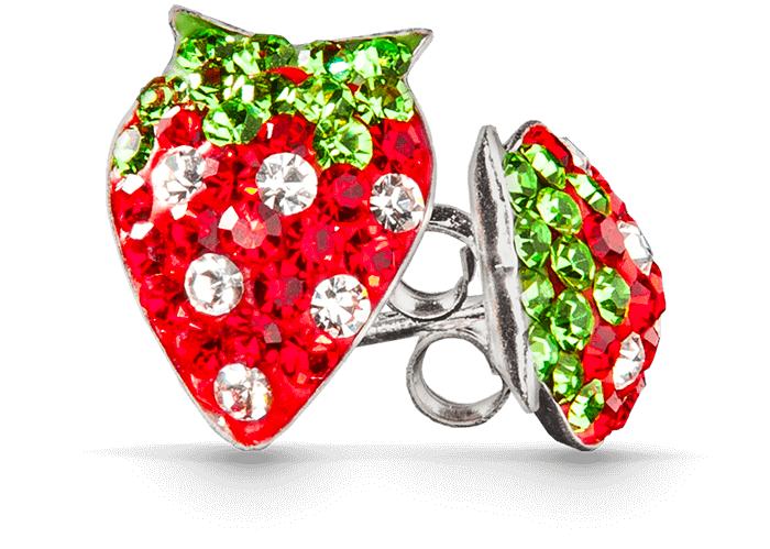 Erdbeerschmuck