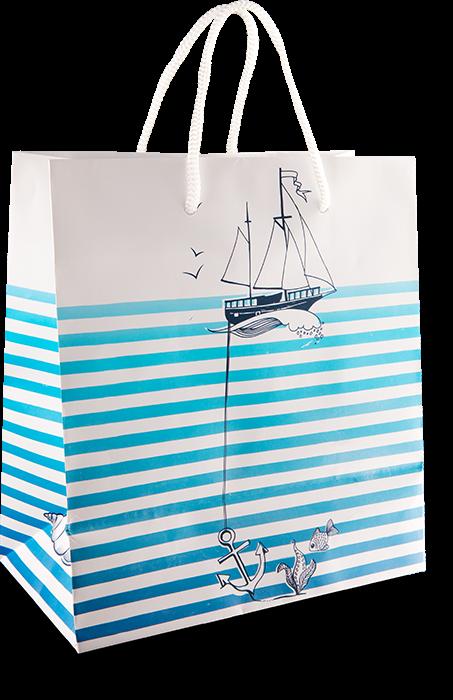 """Geschenktüte """"Eine Tüte Meer"""" groß"""