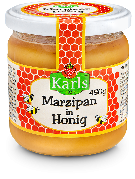 Marzipan in Honig 450g