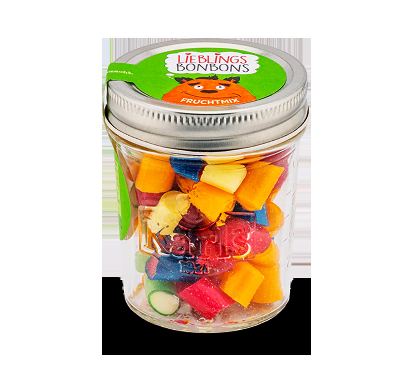 Fruchtmix-Bonbons