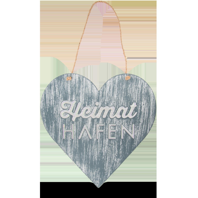 """Herzschild """"Heimathafen"""""""