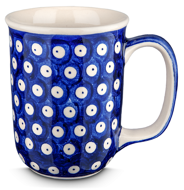 Kaffeebecher groß Punkt in Punkt