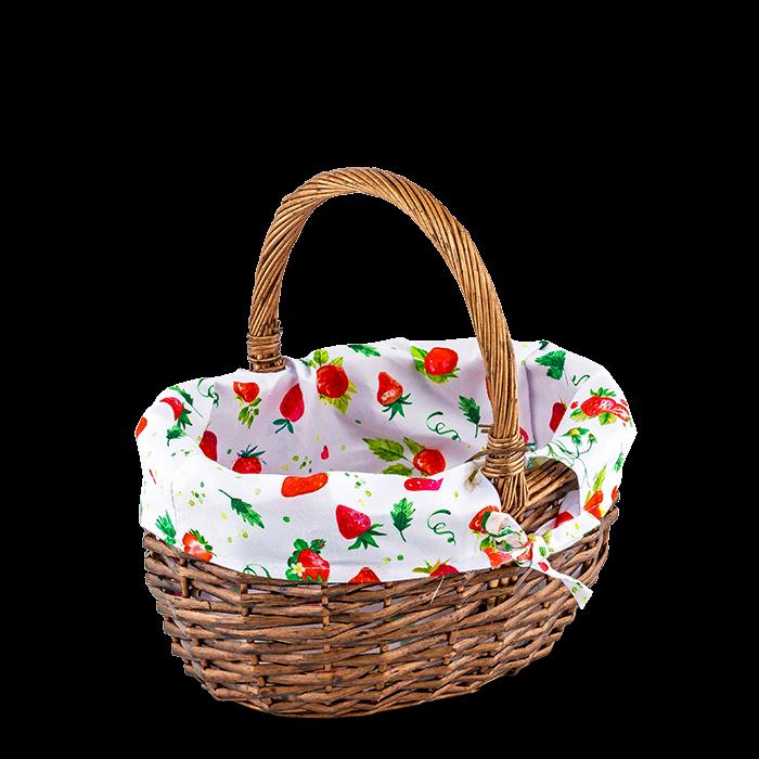 "Autokorb ""Erdbeere"" klein `20"