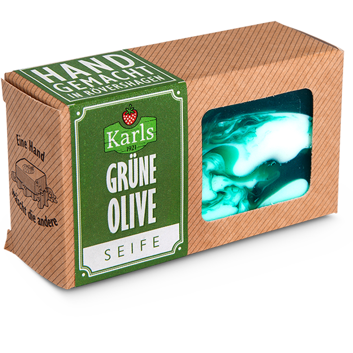 "Seife ""Grüne Olive"""