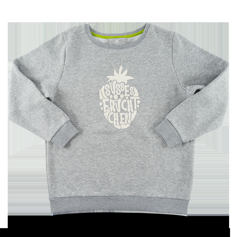 "Damen-Sweatshirt ""Süßes Früchtchen"" grau GR. XXL"