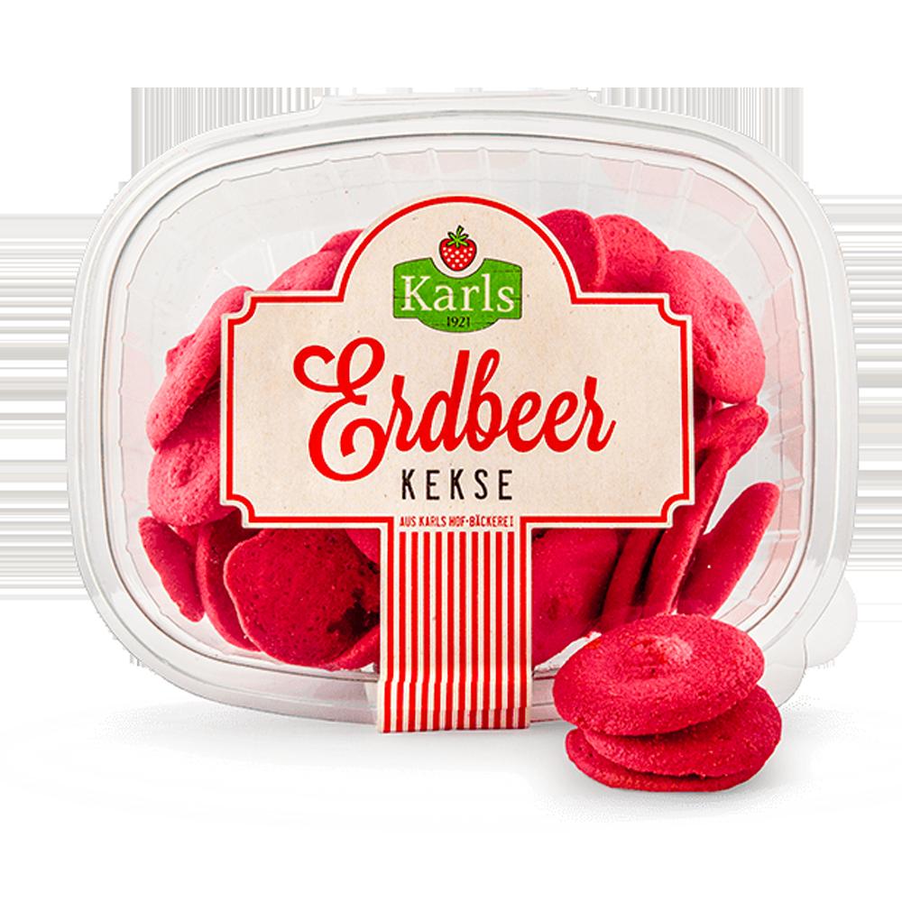 Erdbeerkekse