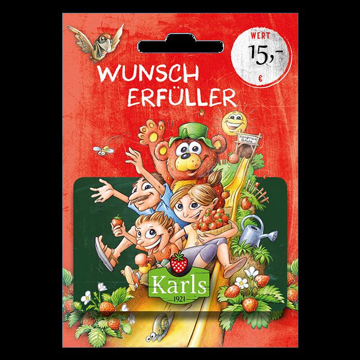 Geschenk-Gutschein 15,-€