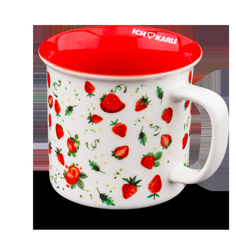 """Karls Fan-Becher """"Erdbeere"""""""