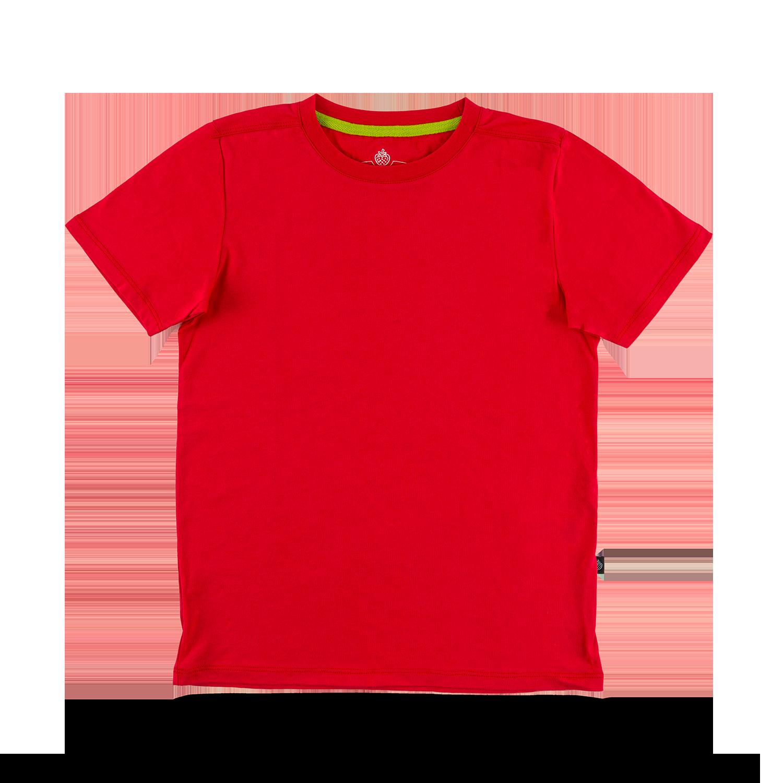 "Kids T-Shirt ""Blanko"" red  Gr. 92/98"