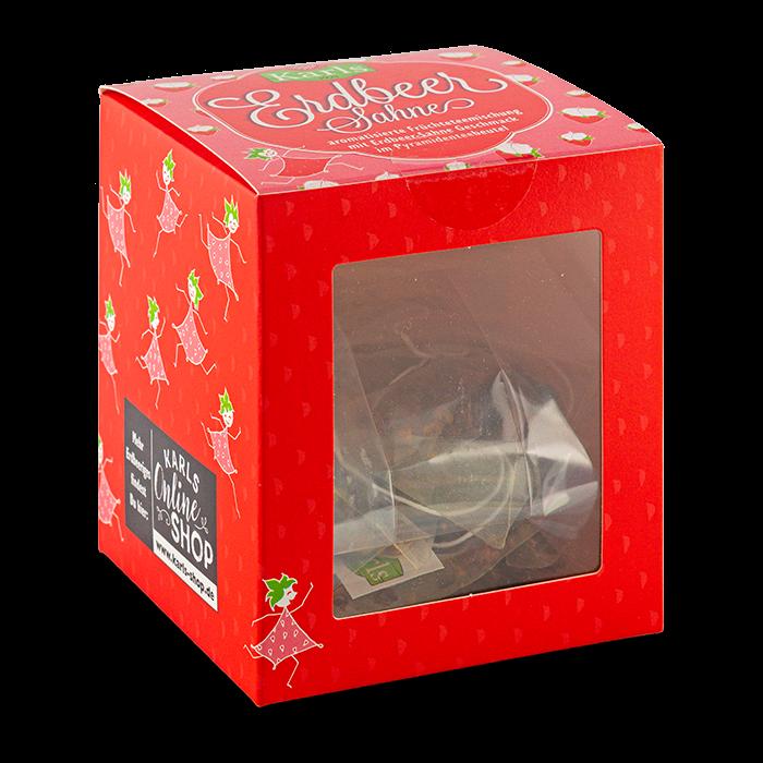 Erdbeer-Sahne-Teebox