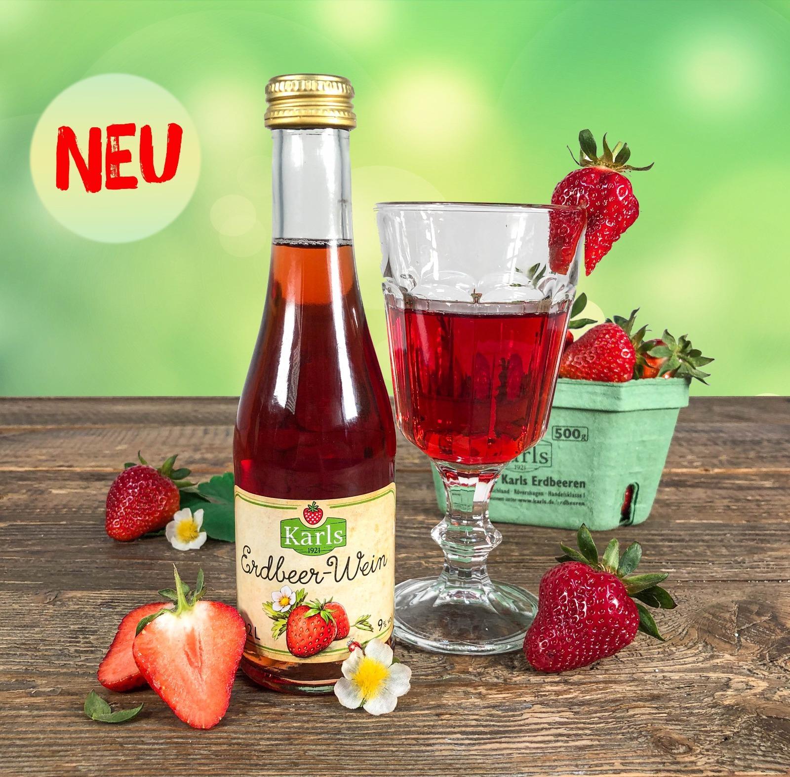 Erdbeerwein - Piccolo