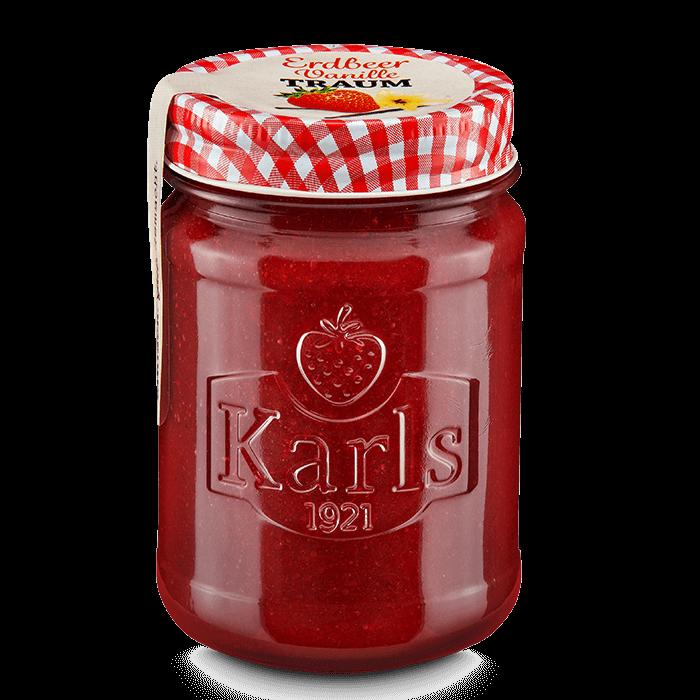 Erdbeer-Vanilletraum