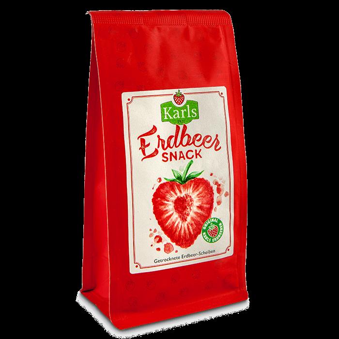 Erdbeer-Snack - Vegan