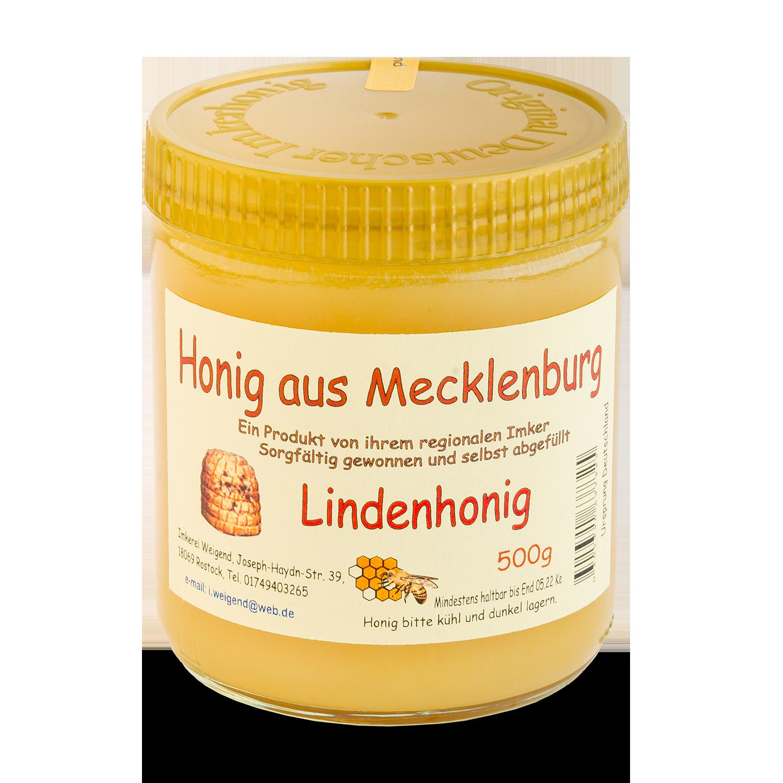 "Honig aus M-V ""Lindenhonig"" 500g"