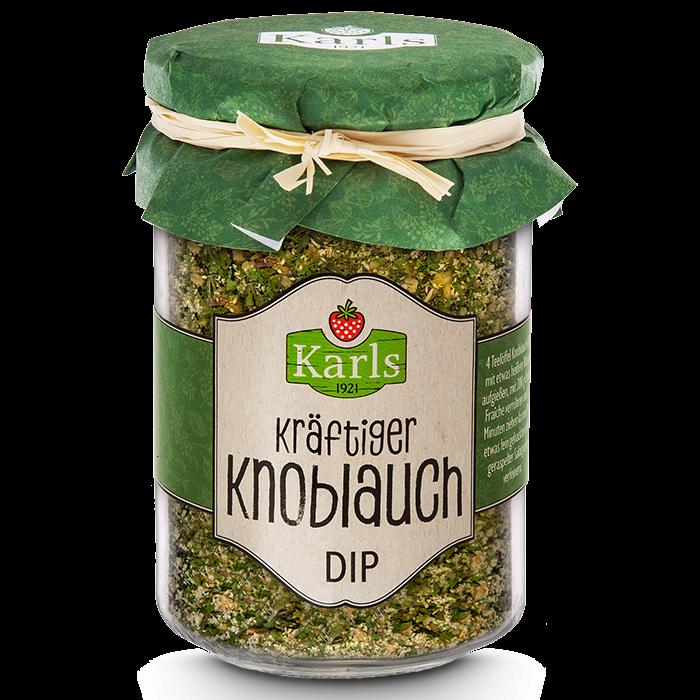 Knoblauch-Dip Gewürzzubereitung