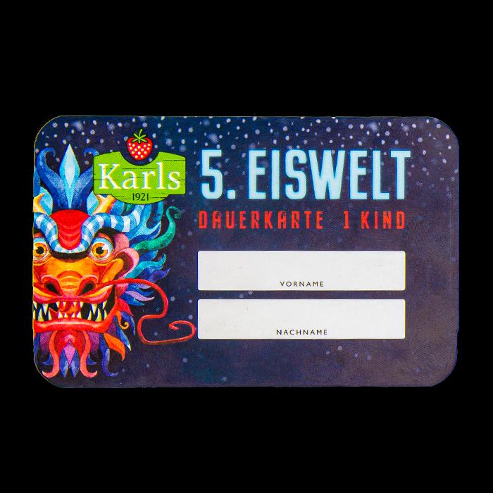 Eiswelt-Ticket Kind ELSTAL - ruckzuck per Mail
