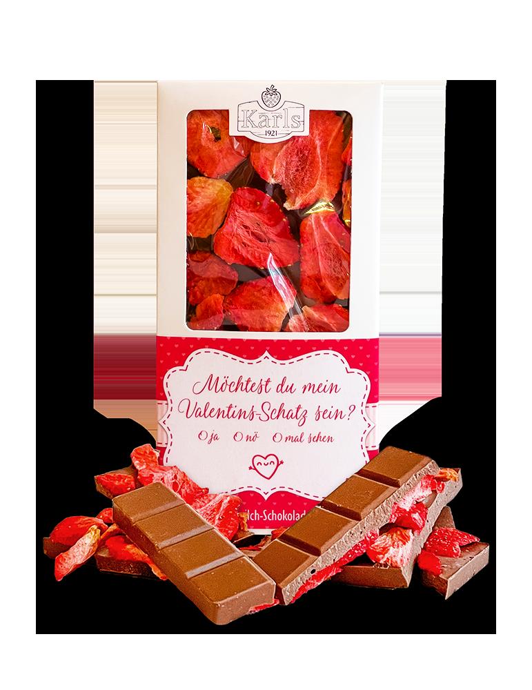 """Schokolade """"Valentinsschatz"""""""