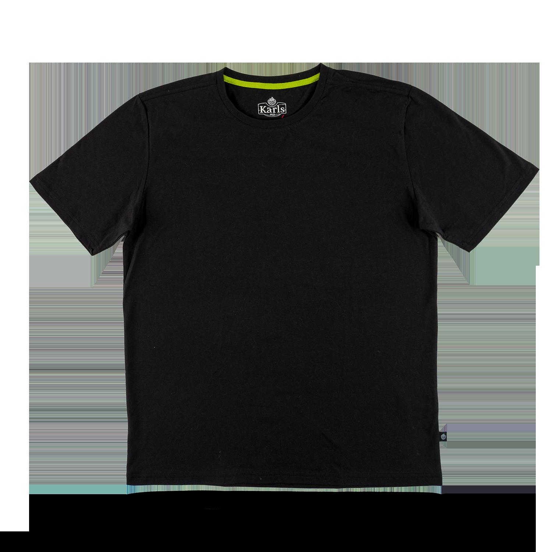 """Herren T-Shirt """"Blanko"""" schwarz Gr. L"""