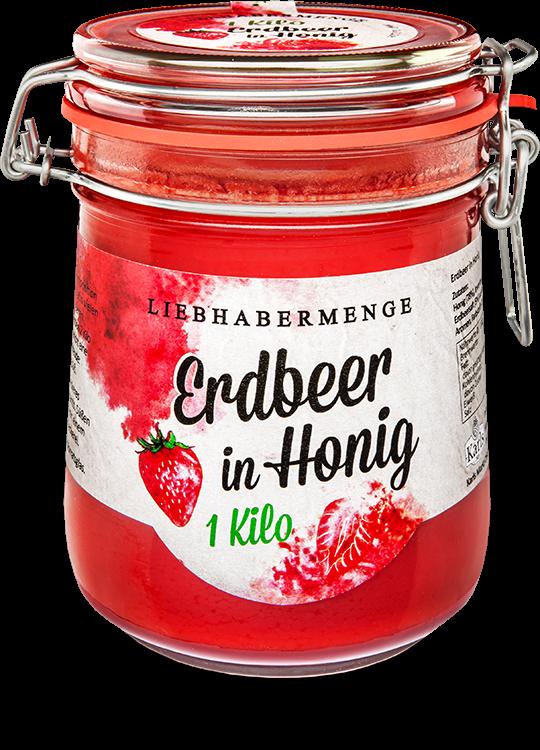 Erdbeer in Honig 1kg