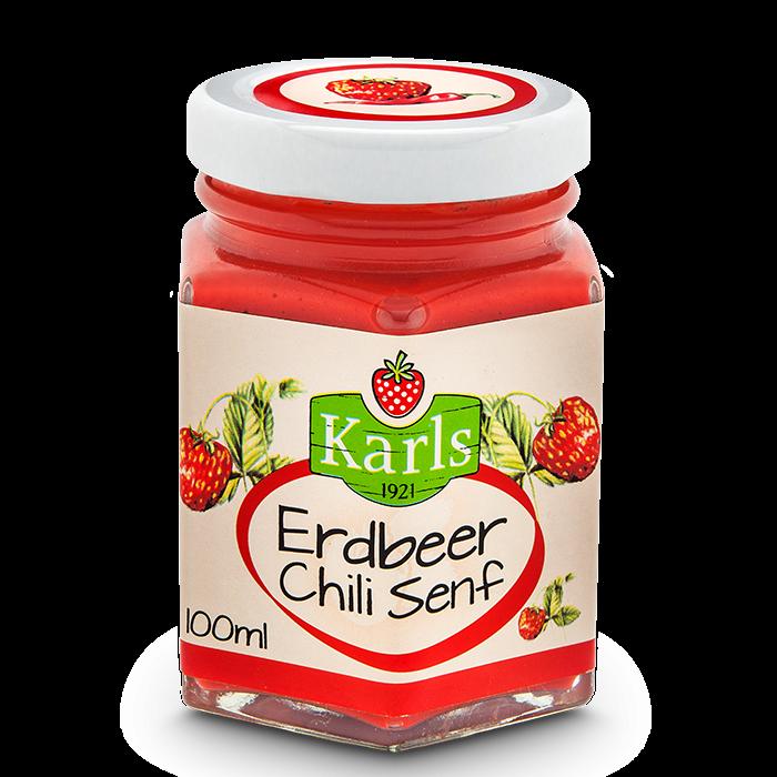 Erdbeer-Chili-Senf