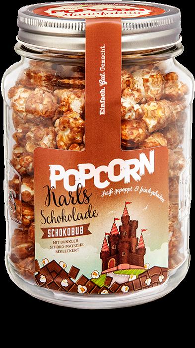 """Karls Popcorn-""""Schokobub"""" im Glas"""